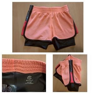 Champion Bottoms - Size 7/8 - 3 pairs of athletic shorts